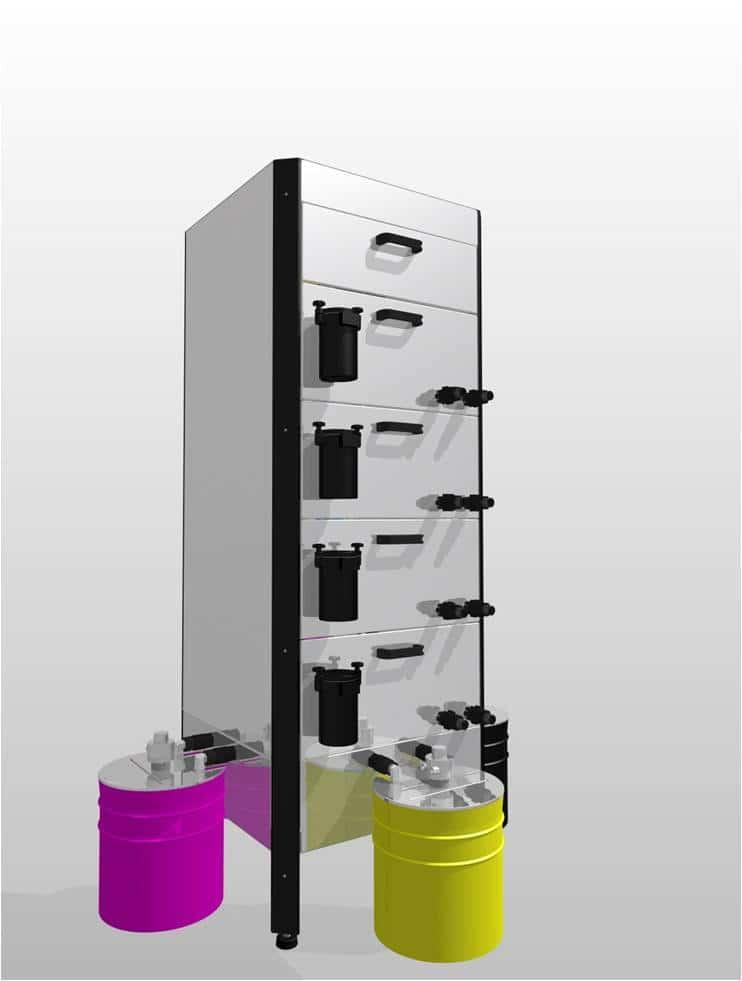 Sistema De Limpieza Automática Fase De Entintado